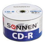 Диски CD-R SONNEN 700 Mb 52x